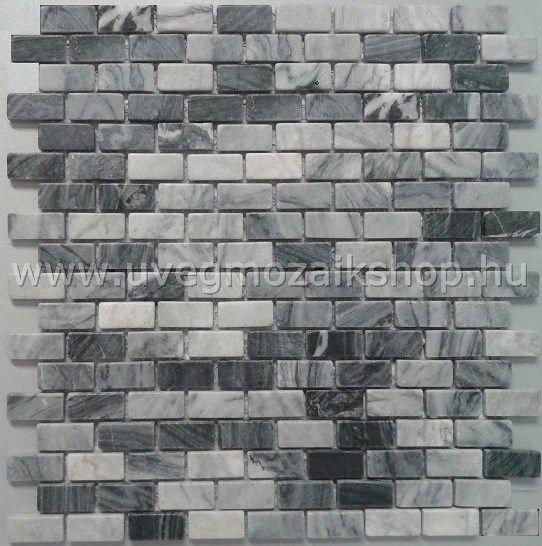 AMEX 15.30 szürke prémium kőmozaik
