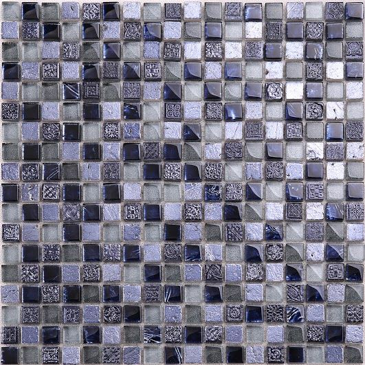 ROYAL KONGÓ prémium lila dekor mozaik