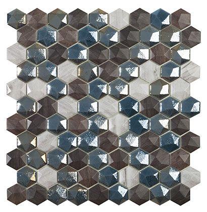 Hexagon SAPEL ÜVEGMOZAIK
