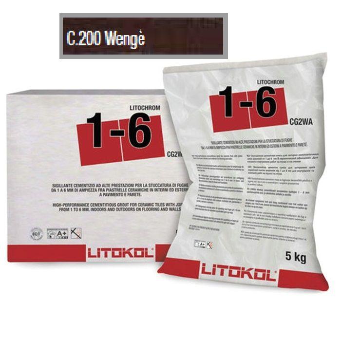 LITOKOL LITOCHROM 1-5 Wenge -barna fugázó