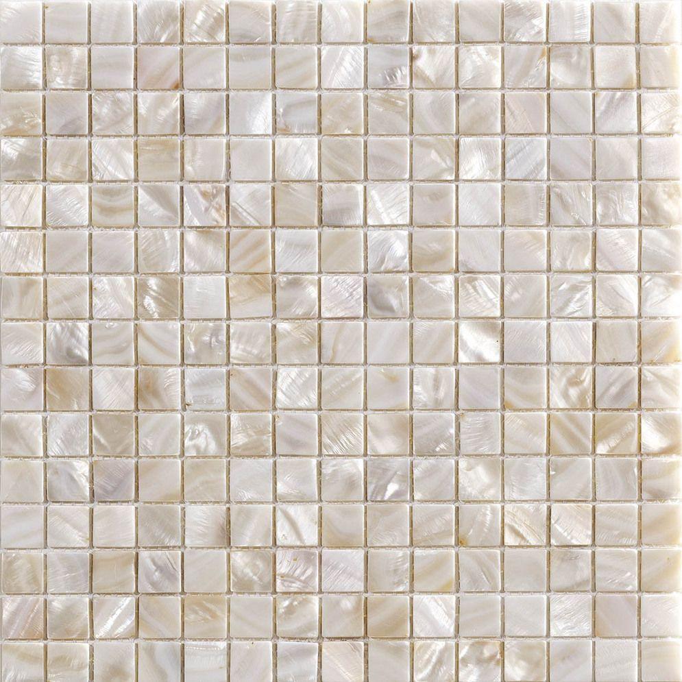 ROYAL BIANCO 03 kagyló mozaik